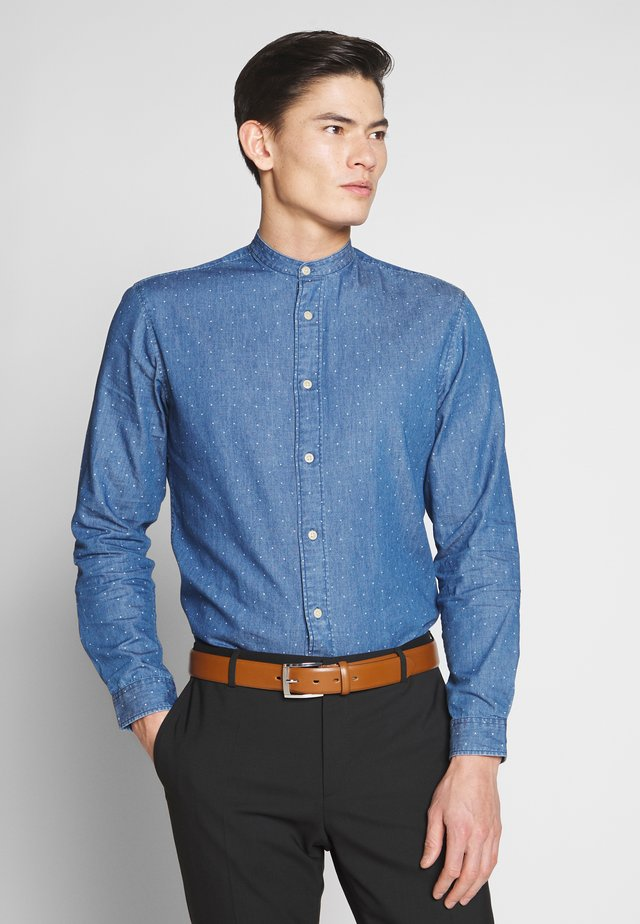 SLHSLIMNOLAN  - Camicia - medium blue denim