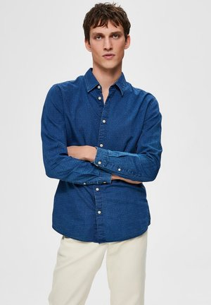 SLHSLIMNOLA - Chemise - medium blue