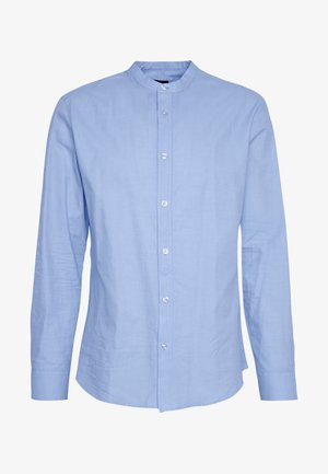 SLHREGMADDOX - Shirt - light blue/dobby