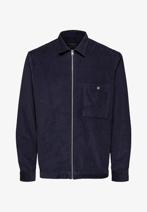 Shirt - mottled dark blue