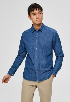Overhemd - medium blue denim