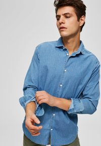 Selected Homme - Chemise - medium blue denim - 3