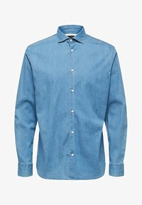 Selected Homme - Chemise - medium blue denim - 5