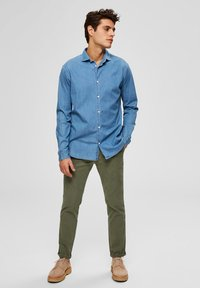 Selected Homme - Chemise - medium blue denim - 1
