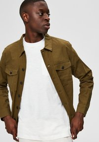 Selected Homme - Shirt - dark olive - 3