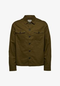 Selected Homme - Shirt - dark olive - 5