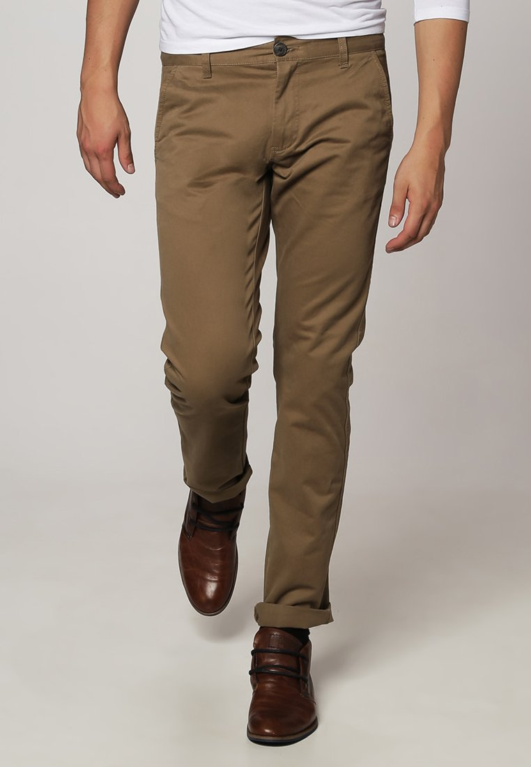 Selected Homme PARIS - Chino - dark camel