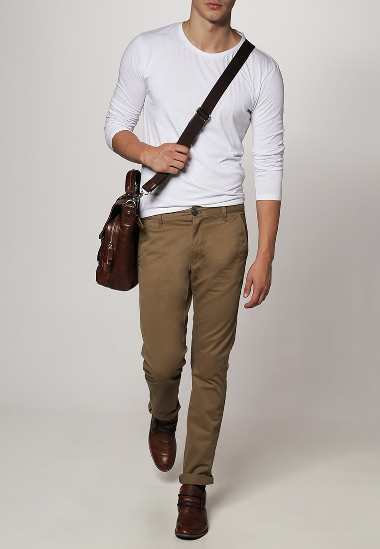 Selected Homme - PARIS - Chino - dark camel