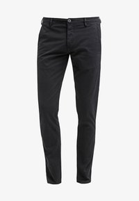 Selected Homme - SHHONE LUCA - Pantalones chinos - black - 6