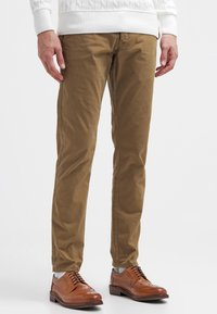 Selected Homme - SHHONE LUCA - Chino kalhoty - camel - 0