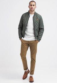 Selected Homme - SHHONE LUCA - Chino kalhoty - camel - 1