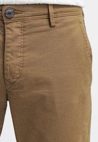 Selected Homme - SHHONE LUCA - Chino kalhoty - camel - 4