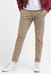 Selected Homme - SHHONE LUCA - Chinos - greige - 3