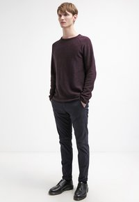 Selected Homme - SHHONE LUCA - Chino kalhoty - navy - 1