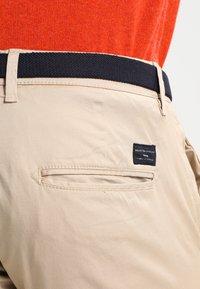 Selected Homme - SHHYARD SLIM FIT - Spodnie materiałowe - white pepper - 4