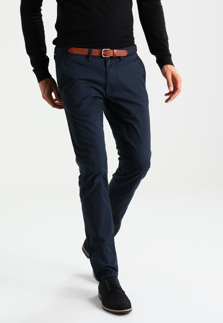 Selected Homme - SHHYARD SLIM FIT - Chinosy - dark sapphire