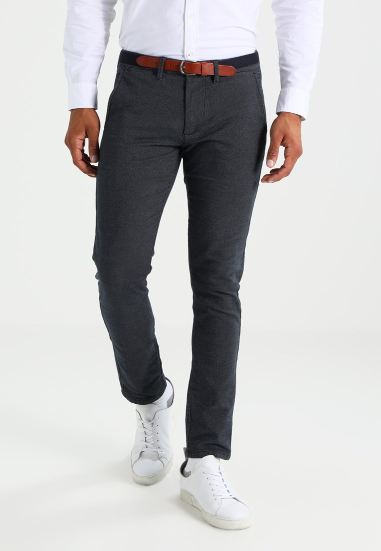 Selected Homme - SHXYARD STRUCTURE SLIM FIT - Chino - dark sapphire
