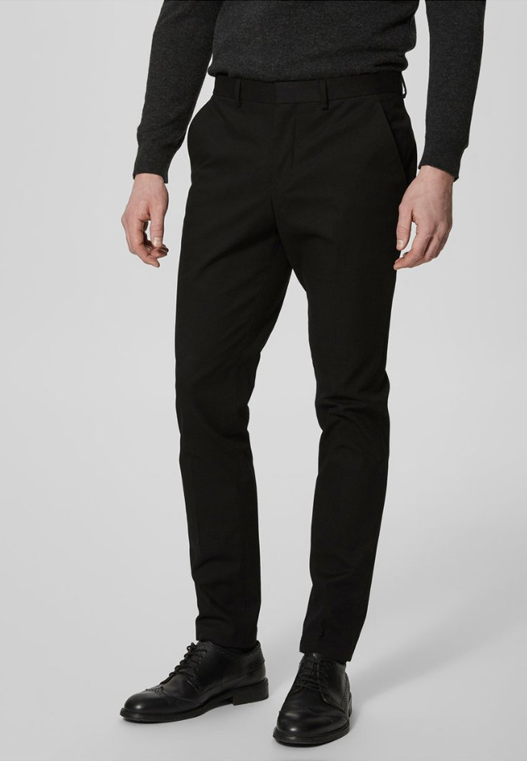 Selected Homme - Anzughose - black