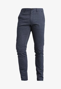 Selected Homme - SLH SLIM-ARVAL MIX PANTS - Chinot - medium blue denim - 4