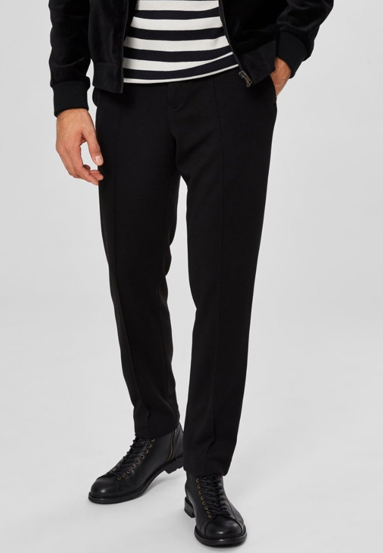 Selected Homme - Stoffhose - black