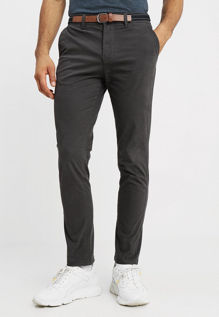 Selected Homme - SLHSLIM JAMERSON - Chino - forged iron