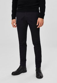 Selected Homme - Bukse - black - 0