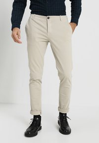 Selected Homme - SLHSKINNY LUCA  - Chino - silver lining - 0