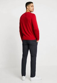 Selected Homme - SLHSLIM-ARVAL PANTS - Kalhoty - navy blazer - 2