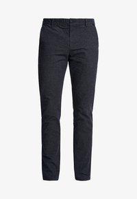 Selected Homme - SLHSLIM-ARVAL PANTS - Kalhoty - navy blazer - 4