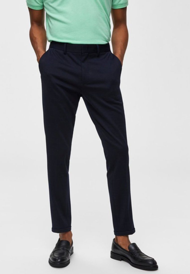 Selected Homme - Stoffhose - night sky