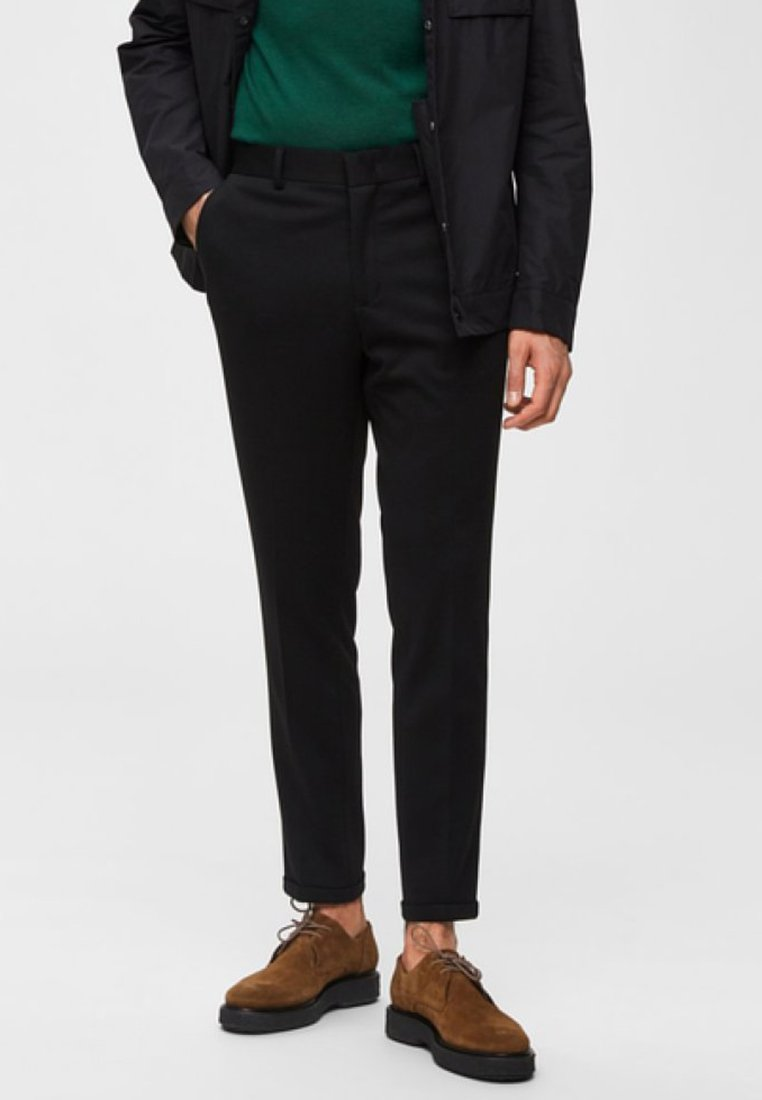 Selected Homme - Pantalones - black