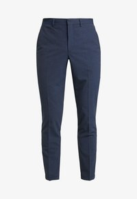 Selected Homme - SLHSLIM MATHREP BLUE HOUNDS - Kalhoty - blue nights - 4