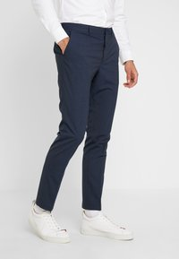 Selected Homme - SLHSLIM MATHREP BLUE HOUNDS - Kalhoty - blue nights - 0
