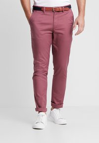 Selected Homme - SLHSLIM YARD PANTS - Chinot - wild ginger - 0
