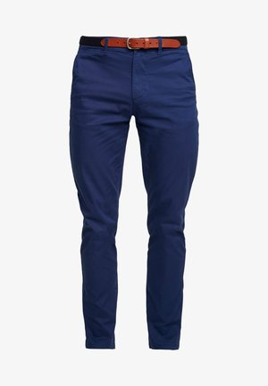 SLHSLIM YARD PANTS - Chino - medieval blue