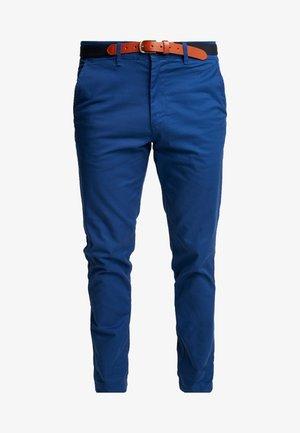SLHSLIM-YARD PANTS W - Chino kalhoty - estate blue