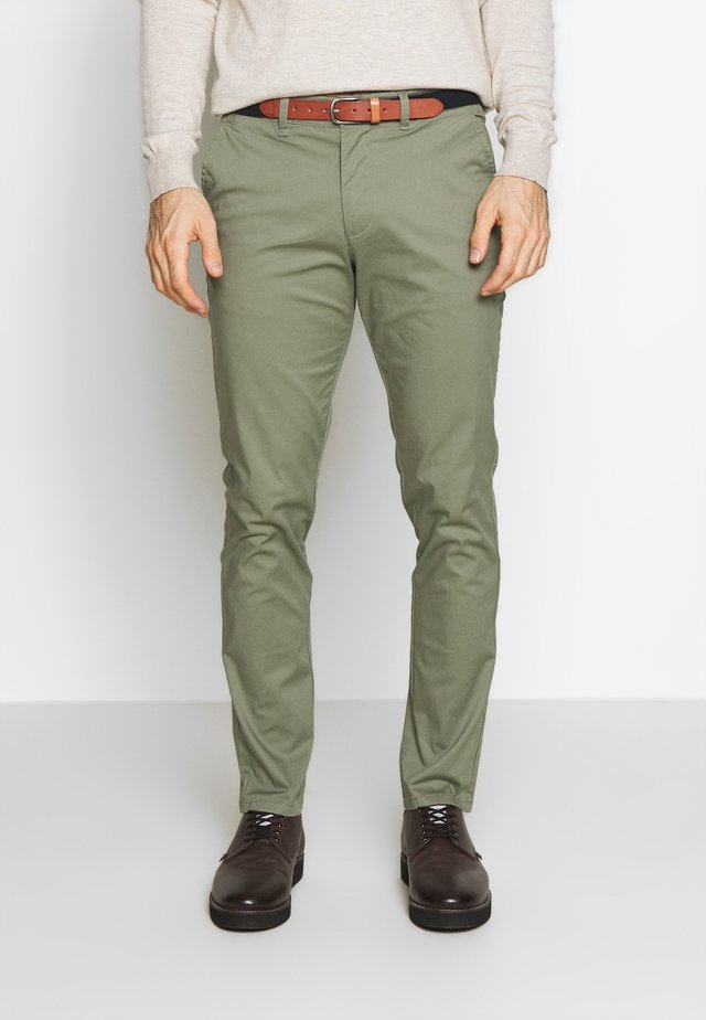SLHSLIM YARD PANTS - Chino - sea spray