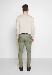 Selected Homme - SLHSLIM YARD PANTS - Chinot - sea spray - 2