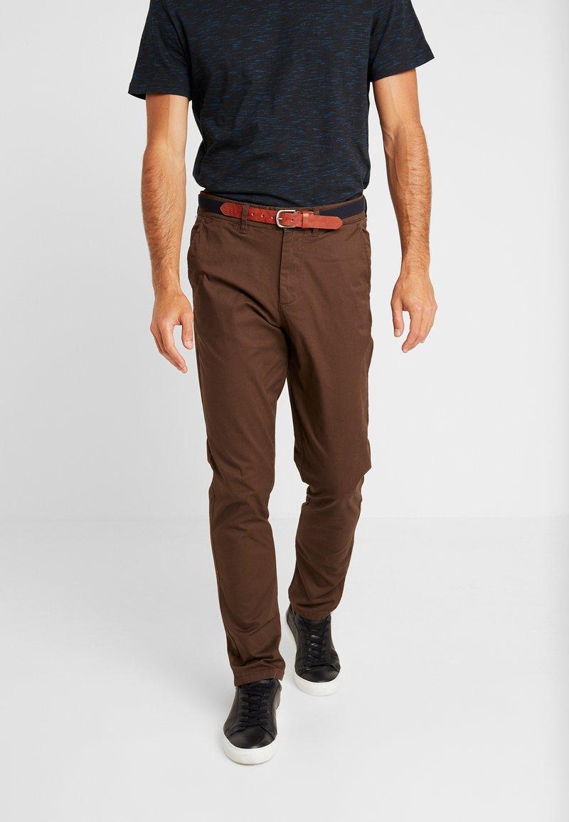 Selected Homme - SLHSLIM YARD PANTS - Chino kalhoty - demitasse