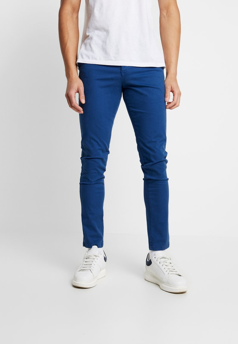 Selected Homme - LUCA - Pantalones chinos - estate blue