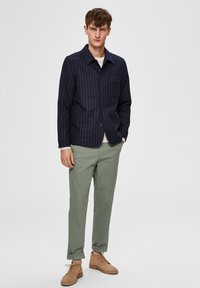 Selected Homme - Tygbyxor - green - 1