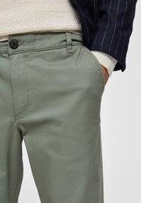 Selected Homme - Tygbyxor - green - 4