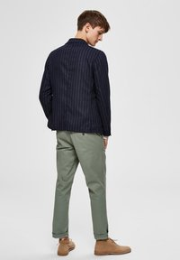 Selected Homme - Tygbyxor - green - 2
