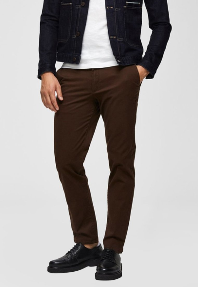 Selected Homme - Trousers - demitasse
