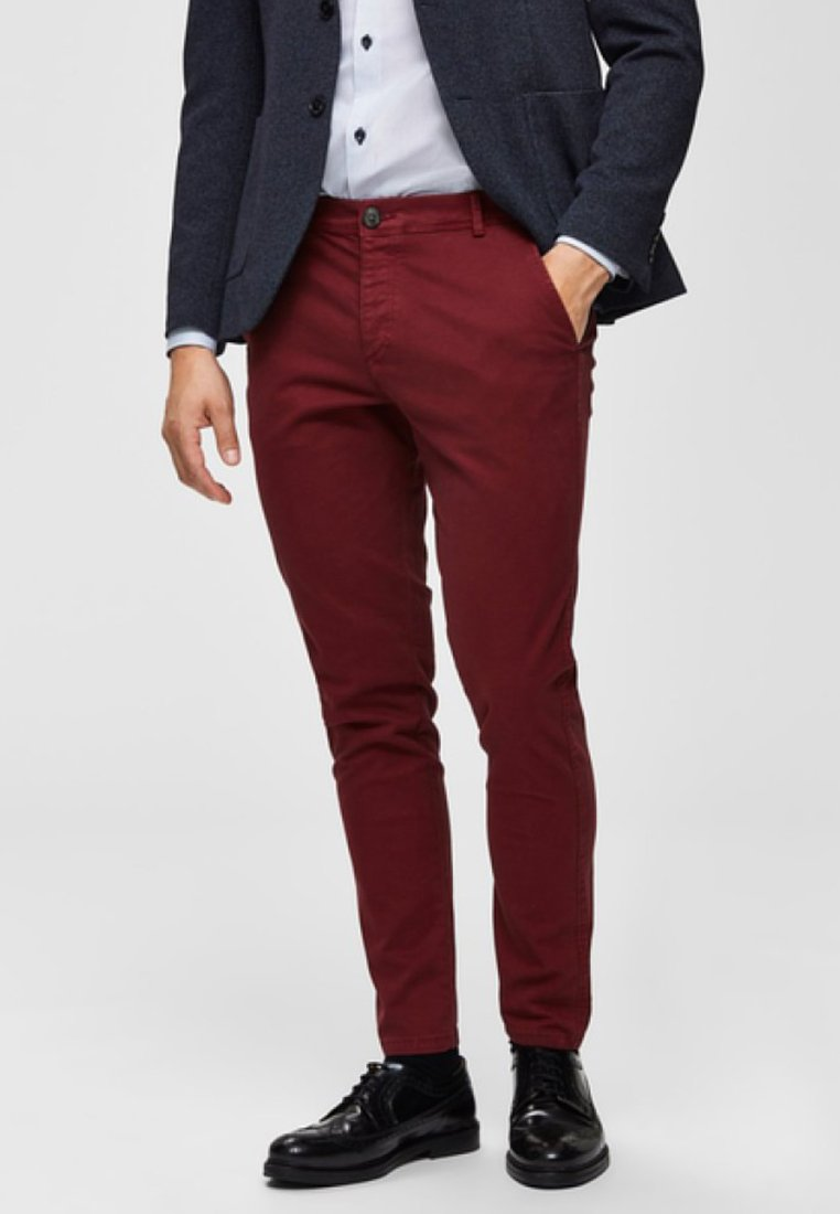 Selected Homme - Chino - tawny port