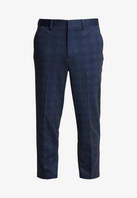 Selected Homme - SLHSLIMTAPERED NEWJERSEY CROP PANTS - Spodnie materiałowe - dark navy - 3