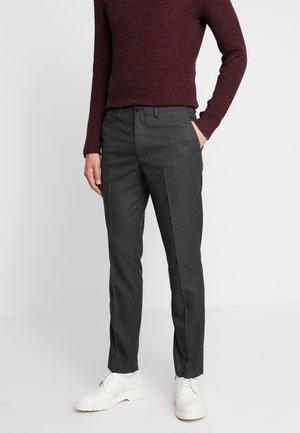 SLHSLIM KENT PANTS - Kalhoty - dark grey