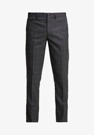 SLHSLIM KENT PANTS - Broek - grey