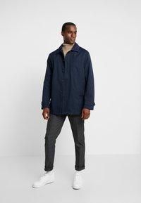 Selected Homme - SLHSLIM KENT PANTS - Pantalones - grey - 1