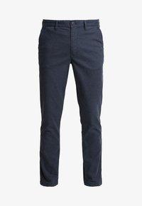 Selected Homme - SLHSLIM PARKER MIX PANTS  - Kalhoty - navy blazer - 4